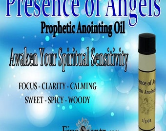 Presence Of Angels Anointing Oil