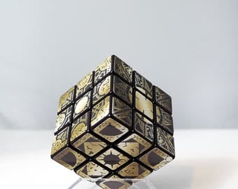 Hellraiser Inspired Custom Rubik's Cube / Custom Lemarchand's Puzzle Cube / Lament Cube Speed Rubik's Cube