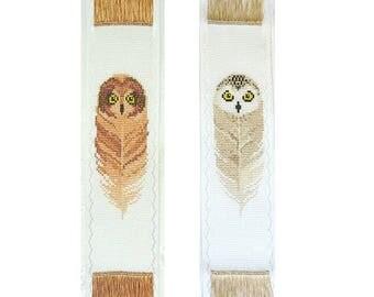 Cross stitch pattern/owl bookmark/ Owls /Bookmark Set # 1 /Bookmarks/ Owl Cross Stitch Chart