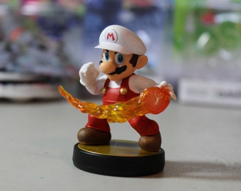 Custom Mario Amiibo   Fire Alternate Costume