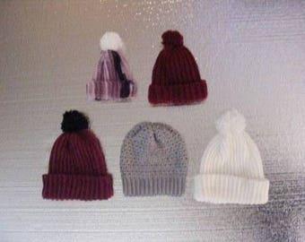 Crocheted Winter Hats