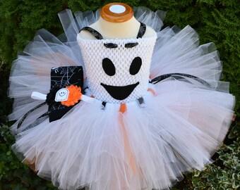 Ghost Tutu, Ghost Costume, Halloween Costume Kid, Halloween Tutu, Halloween Costume, Baby Costume, Ghost Outfit, Toddler Tutu, Child Costume