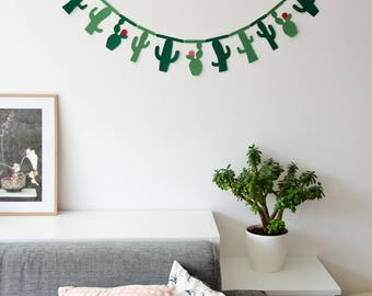 Cactus Sling//cactus//Garland//Banner//decoration//sling//gift//Home decor//Birthday present//house//Embellishment