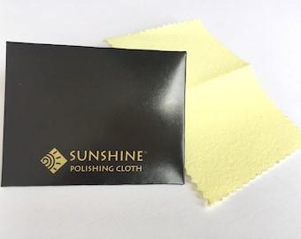 Sunshine Cloth, Jewelry Polishing Cloth, Jewelry Cleaning Cloth