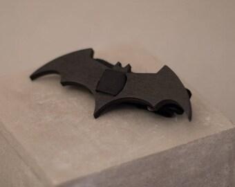 Black wooden bowtie lasercut engraved