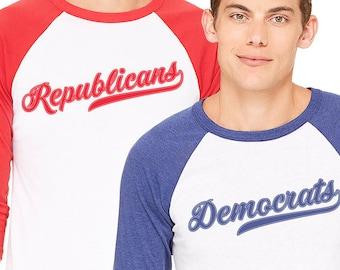 Republican or Democrat Congressional Baseball T‑Shirt