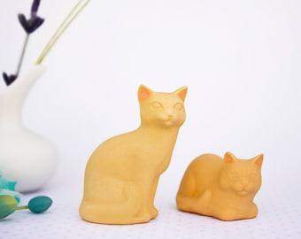 Cat, Cat Figurine, Cat Sculpture, Orange Tabby Cat, Cat Memorial, Pet Memorial, Small Cat, Gift for Cat Lover, Sympathy Gift, Pet Loss Gift