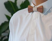 Wooden Bow Tie - Walnut - Free Shipping
