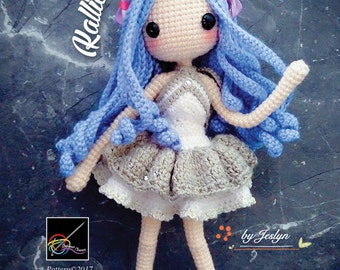Crochet Doll Pattern - Kallie 凱莉