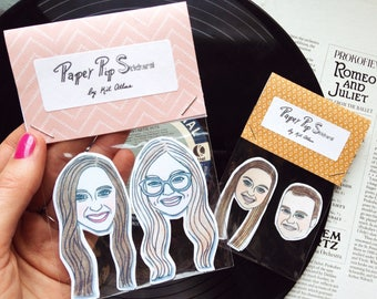 Custom Face Stickers Personalized Planner Hipster Gift