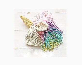 unicorn hat crochet unicorn hat pastel unicorn beanie pastel rainbow unicorn hat newborn unicorn costume shower gift baby girl gift for her