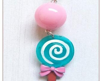 """""""Gourmet Collection"""" Lollipop lollipop necklace"""