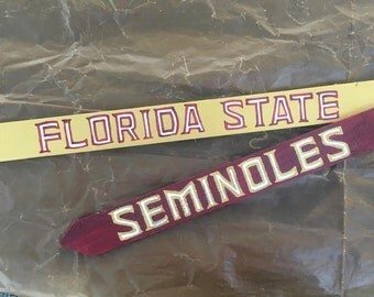 Florida State Seminoles, College signs, College Football Signs, Destination signs, Custom Directional sign, Personalized sign, tiki bar sign