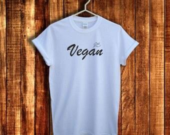 Vegan shirt, Vegan t shirt, Vegan tee, Vegetarian clothes, Vegetarian t shirt, Vegan gift, Graphic shirt, Unisex sizes