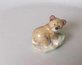 vintage 1950s wade first series grizzly cub