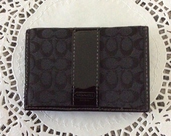 COACH - ID and credit card holder.
