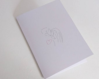 Kiss Me Valentine's Day Card