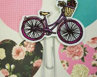 Vintage Bicycle Bike Planner or TN clip