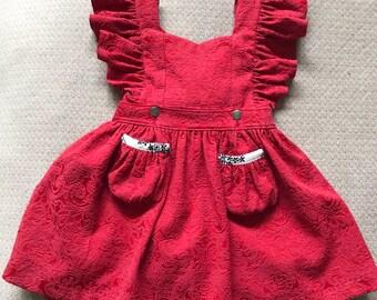 Little Girl/Toddler Vintage Feisty Dress and Romper