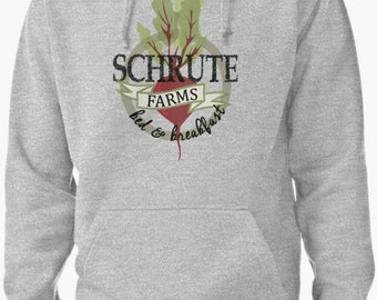 Schrute Farms Bed & Breakfast - Unisex Sweater Pullover Hoodie