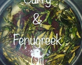 Curry and fenugreek oil