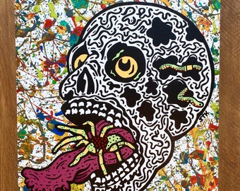 Skull 2 Painting