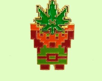 Weed - The Legend of Zelda Pins - Zelda - zelda gift - Gag gifts - Adult Humor - Gamer pins - Zelda Pins - Nintendo pins - 420 - Retro Zelda
