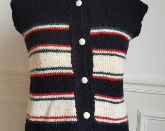 Handmade 60's Sleeveless vest