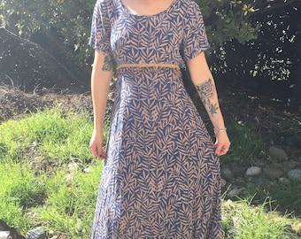 CDC 90s maxi dress