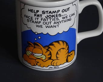 Garfield Mug Here's to Health and Herbal Tea