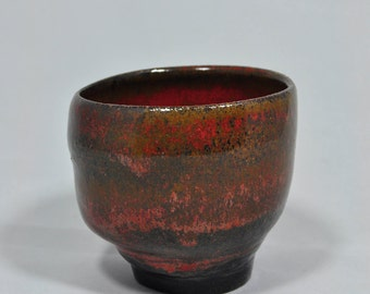 Red Earth Curve Cup