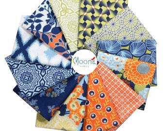 Modern Farmhouse Fat Quarter Bundle, Woodland Baby Quilt Fabric, Fat Quarters Rustic Baby, Woodland Nursery Fabric, Joel Dewberry, BOTANIQUE