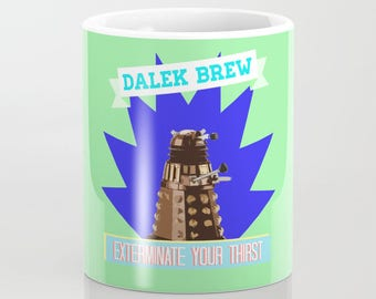 Dalek Brew Mug