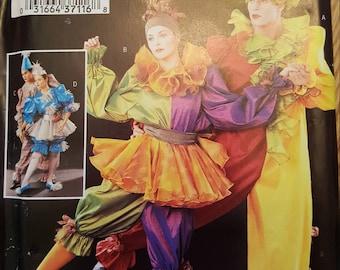 Butterick P378 Size l, xl  UNCUT 2002 Jester/ Clown Costume