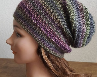 Slouchy beanie, winter hat, slouchy beanie women, gift for girlfriend, Valentines gift, teen gift, hipster hat