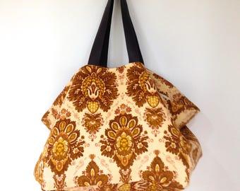 Large Velvet Tote Bag