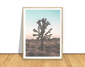 Joshua Tree Photography, Joshua Tree Poster, Joshua Tree Art, Joshua Tree Print, Joshua Tree Wall Art Joshua Tree Printable Download jt3c1c1