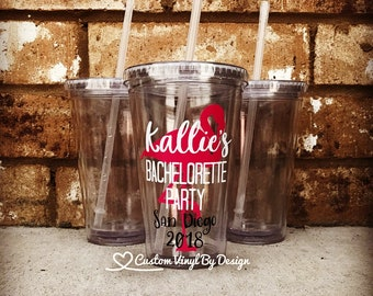 Flamingo Bachelorette Party | Bachelorette Party Cups | Bachelorette Party Tumblers | Bachelorette Party Favors | Bachelorette Cups