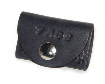 FIDO Leather Pet Tag Silencer - M/LG Breed