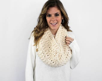 Knit Scarf Cowl Scarves Fisherman- Anacostia Cowl