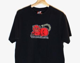 90s Vintage Toy Machine T-Shirt Skateboard Tee 90s Skateboarding T-Shirt Size Medium