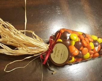 Set of 10 Fall Harvest Cones