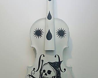 Memento Vivere Handpainted Violin