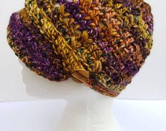 Newsboy Crochet Hat Pattern - Easy