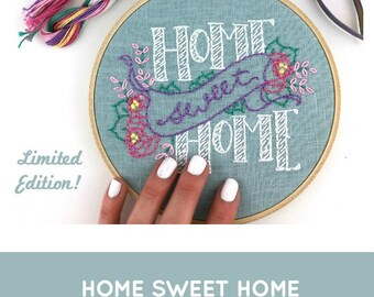 Home Sweet Home Embroidery Kit (basic version)