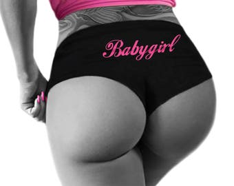 Babygirl Panties, Baby Girl Womens Underwear