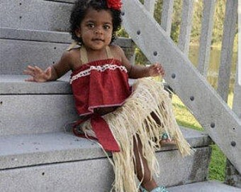 Baby Moana, Moana Costume, Moana Dress, Moana Birthday, Moana Party,