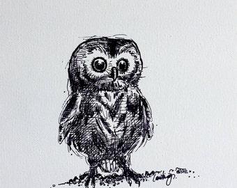 Grow Wise, Little Owl