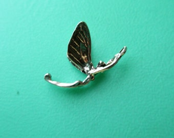 Sterling Fairy Charm, SS Fairy Charm, Silver Fairy Charm, 17mm