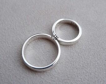 Couple ring set | Etsy